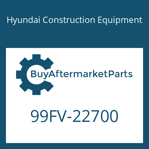 Hyundai Construction Equipment 99FV-22700 - DECAL-MODEL NAME