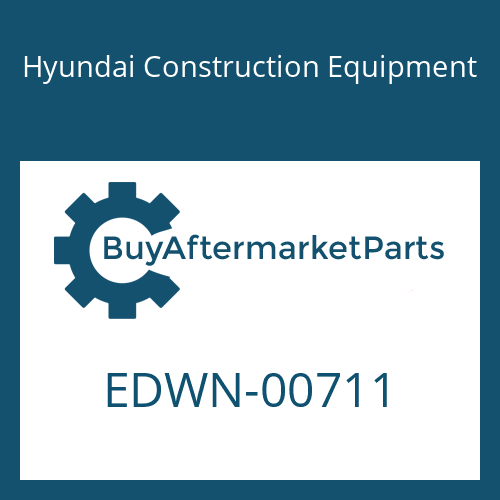 Hyundai Construction Equipment EDWN-00711 - DISC-LOCK