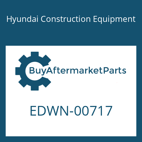 Hyundai Construction Equipment EDWN-00717 - PLUG