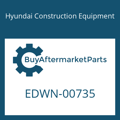 Hyundai Construction Equipment EDWN-00735 - NUT-HEX