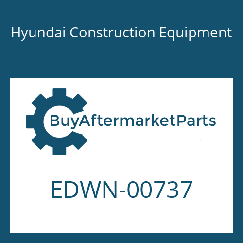 Hyundai Construction Equipment EDWN-00737 - COVER