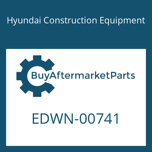Hyundai Construction Equipment EDWN-00741 - BRACKET