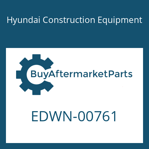Hyundai Construction Equipment EDWN-00761 - PLUG-PROTECTION