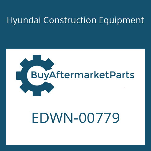 Hyundai Construction Equipment EDWN-00779 - MAT-INSULATION