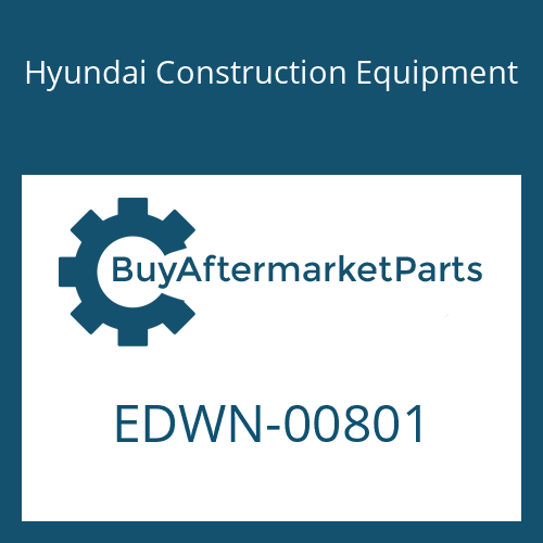 Hyundai Construction Equipment EDWN-00801 - PIN-COTTER