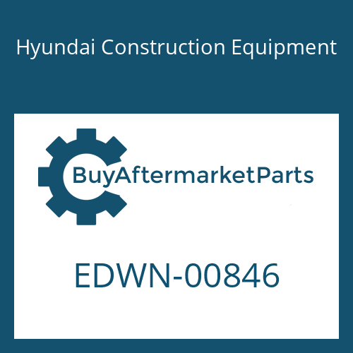 Hyundai Construction Equipment EDWN-00846 - STICKER