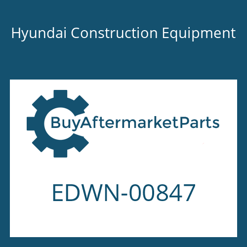 Hyundai Construction Equipment EDWN-00847 - STICKER KIT