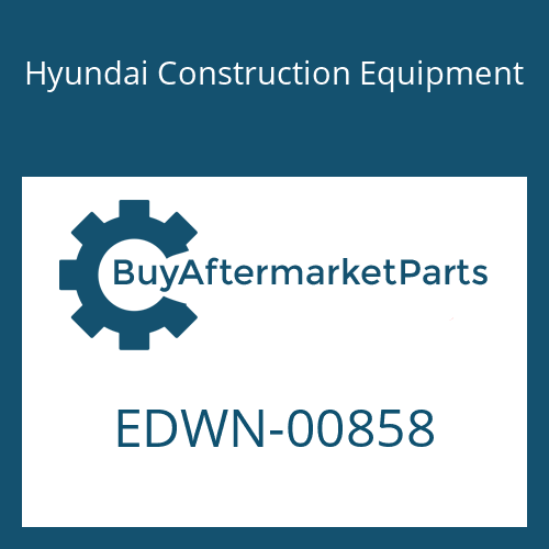 Hyundai Construction Equipment EDWN-00858 - STICKER