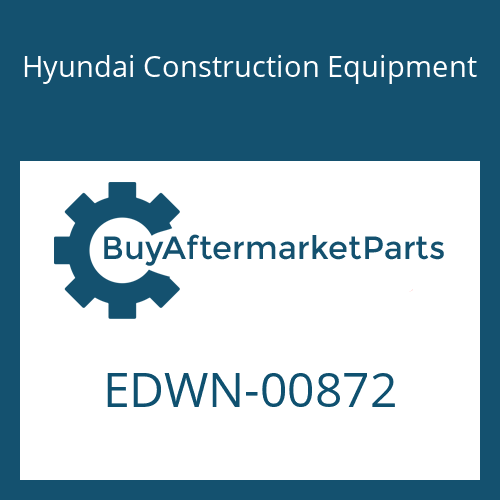 Hyundai Construction Equipment EDWN-00872 - LABEL