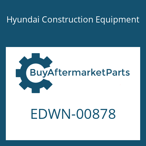 Hyundai Construction Equipment EDWN-00878 - STICKER