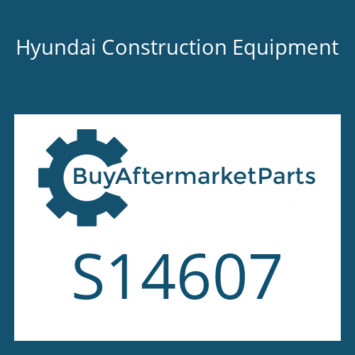 Hyundai Construction Equipment S14607 - BLOCK-SHAFT