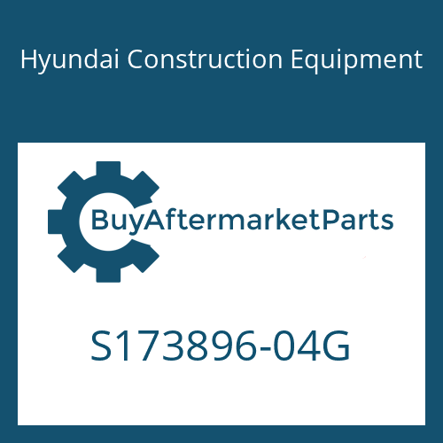 Hyundai Construction Equipment S173896-04G - FORK ASSY