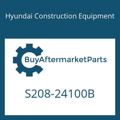 Hyundai Construction Equipment S208-24100B - NUT-HEX