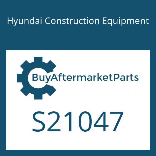 Hyundai Construction Equipment S21047 - GUIDE-WEIGHT
