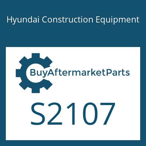 Hyundai Construction Equipment S2107 - PLUG
