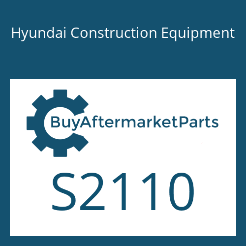 Hyundai Construction Equipment S2110 - PLUG