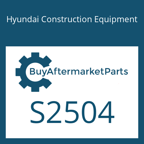 Hyundai Construction Equipment S2504 - SCREW