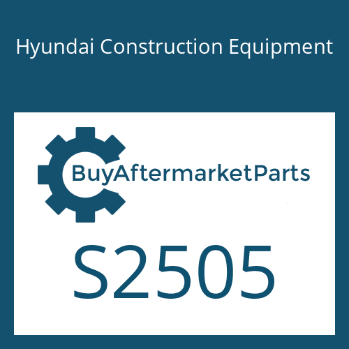 Hyundai Construction Equipment S2505 - NUT