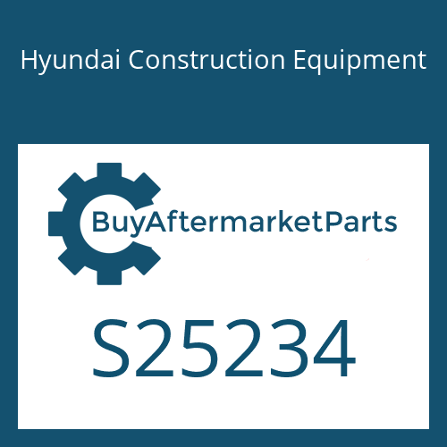 Hyundai Construction Equipment S25234 - BRACKET
