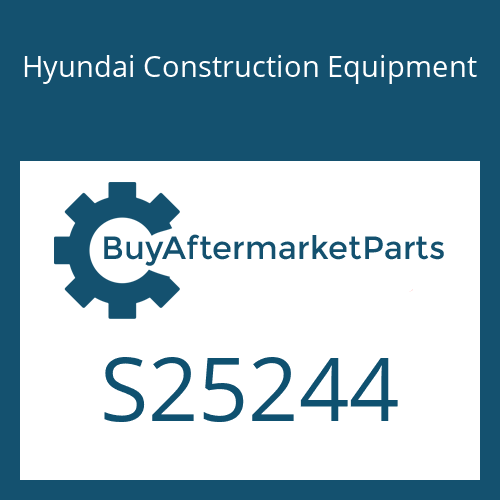 Hyundai Construction Equipment S25244 - DECAL