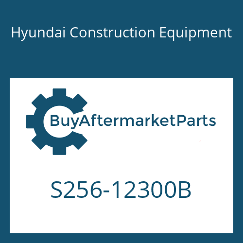 Hyundai Construction Equipment S256-12300B - NUT-HEX