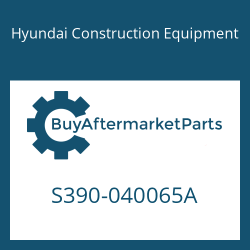 Hyundai Construction Equipment S390-040065A - SHIM-ROUND 0.5