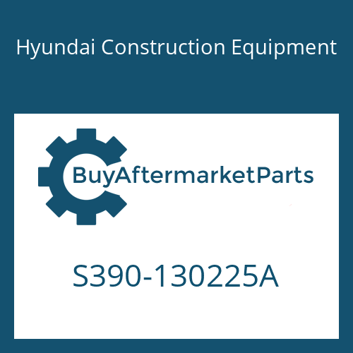 Hyundai Construction Equipment S390-130225A - SHIM-ROUND 0.5