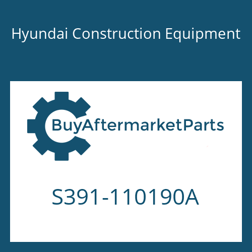 Hyundai Construction Equipment S391-110190A - SHIM-ROUND 1.0