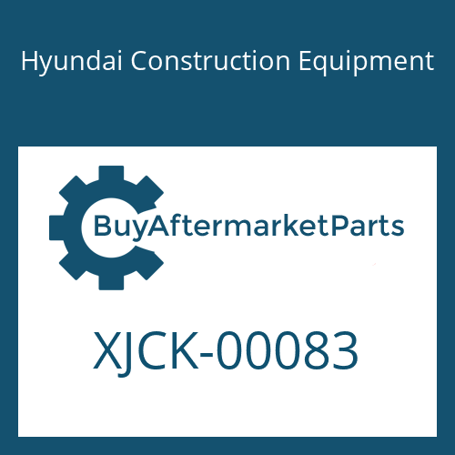 Hyundai Construction Equipment XJCK-00083 - O-Ring
