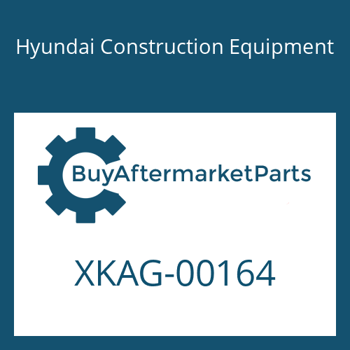 Hyundai Construction Equipment XKAG-00164 - GEAR-DRIVE