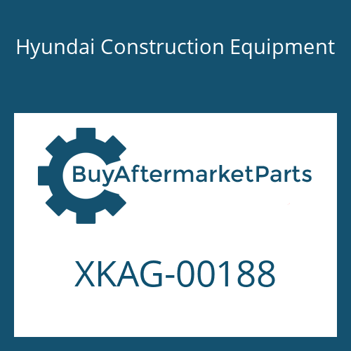 Hyundai Construction Equipment XKAG-00188 - BUSHING-DU