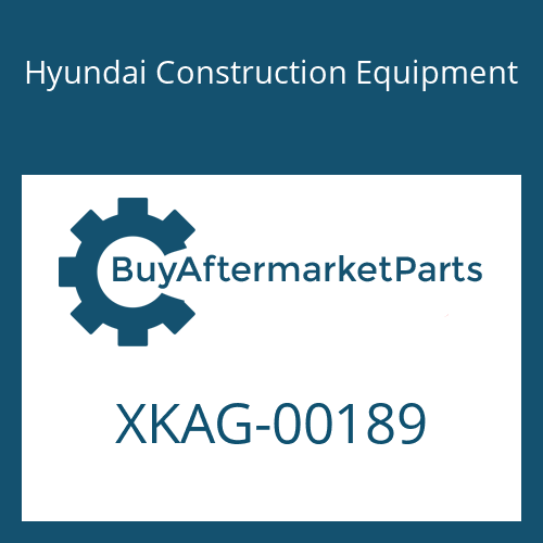 Hyundai Construction Equipment XKAG-00189 - SEAL-CHANNEL