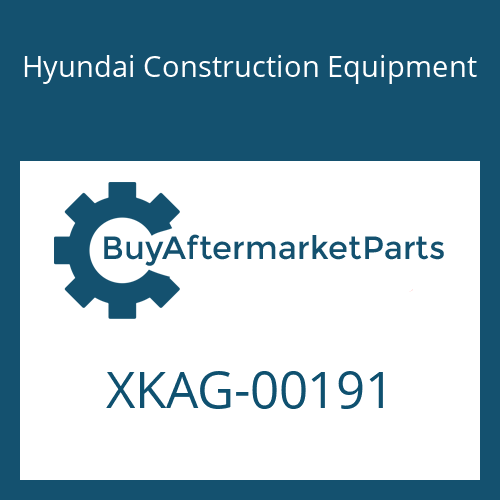 Hyundai Construction Equipment XKAG-00191 - BEARING