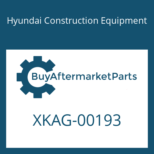 Hyundai Construction Equipment XKAG-00193 - FLANGE-R