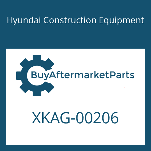 Hyundai Construction Equipment XKAG-00206 - BLOCK-BUSHING