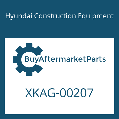 Hyundai Construction Equipment XKAG-00207 - BUSHING-DU