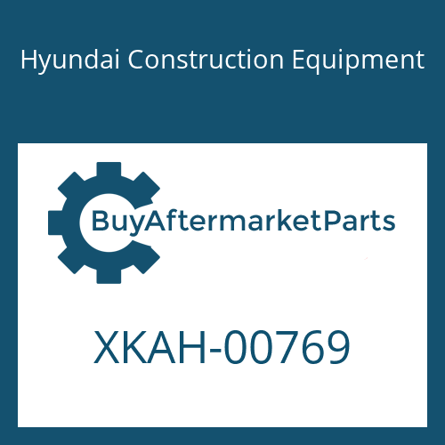 Hyundai Construction Equipment XKAH-00769 - NUT-HEX