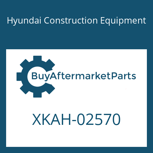 Hyundai Construction Equipment XKAH-02570 - VALVE-BRAKE