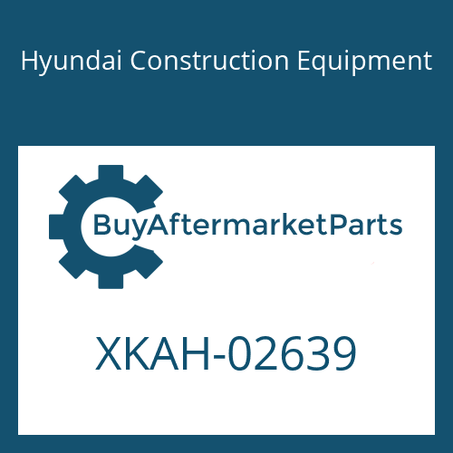 Hyundai Construction Equipment XKAH-02639 - GEAR ASSY-RV