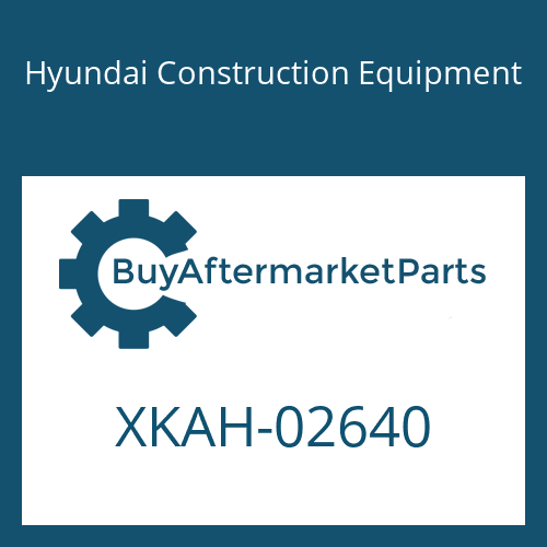 Hyundai Construction Equipment XKAH-02640 - SPINDLE ASSY