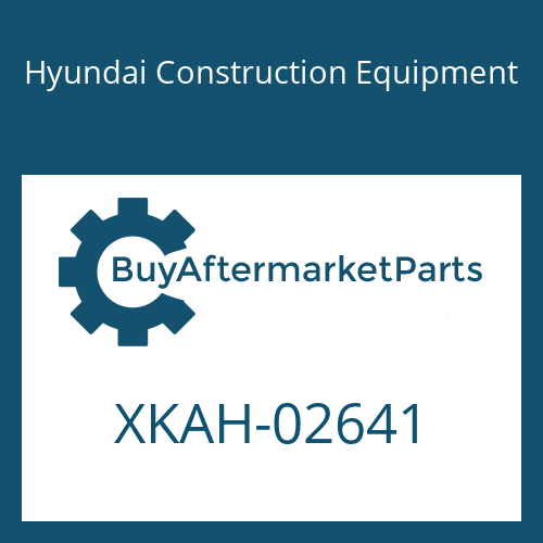 Hyundai Construction Equipment XKAH-02641 - SPRING