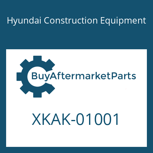Hyundai Construction Equipment XKAK-01001 - SEAL-OIL