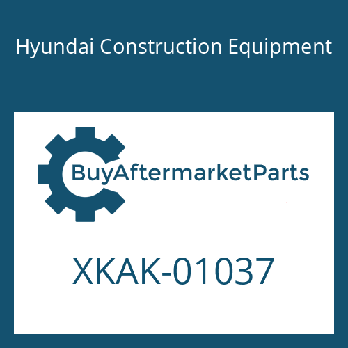 Hyundai Construction Equipment XKAK-01037 - BODY-LOWER