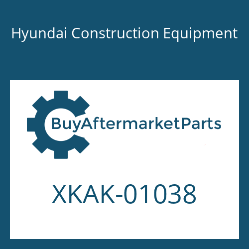 Hyundai Construction Equipment XKAK-01038 - BODY-UPPER