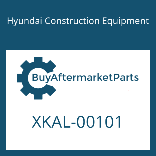 Hyundai Construction Equipment XKAL-00101 - PLUG