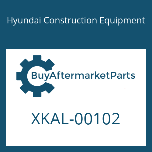 Hyundai Construction Equipment XKAL-00102 - BOLT