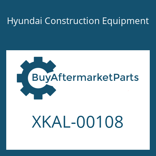 Hyundai Construction Equipment XKAL-00108 - O-RING