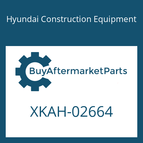 Hyundai Construction Equipment XKAH-02664 - COVER-SEAL FR