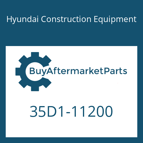 Hyundai Construction Equipment 35D1-11200 - PIPE ASSY-HYD