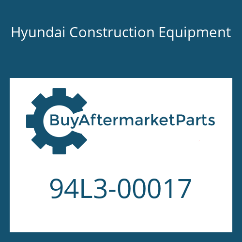 Hyundai Construction Equipment 94L3-00017 - DECAL KIT-A